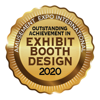 Amusement Expo IntL_Exhibit Booth Design logo