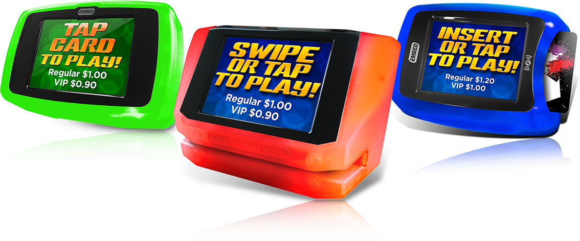 smartTOUCH card reader for arcades and Family Entertainment Centres