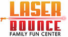 LaserBounce Logo Stacked