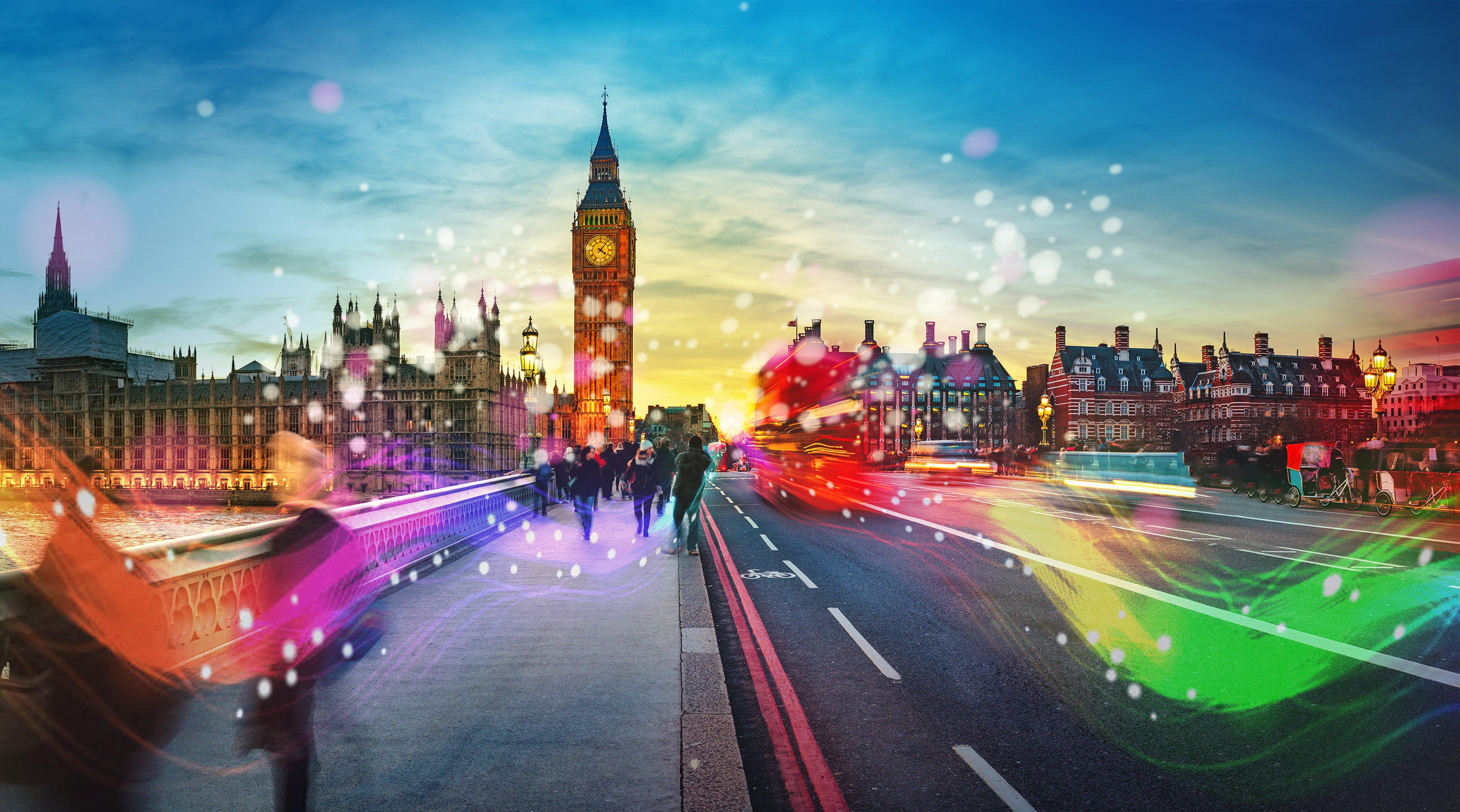 London Big Ben Landscape