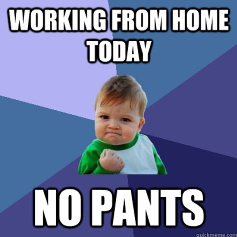 5 Stages Of Working From Home