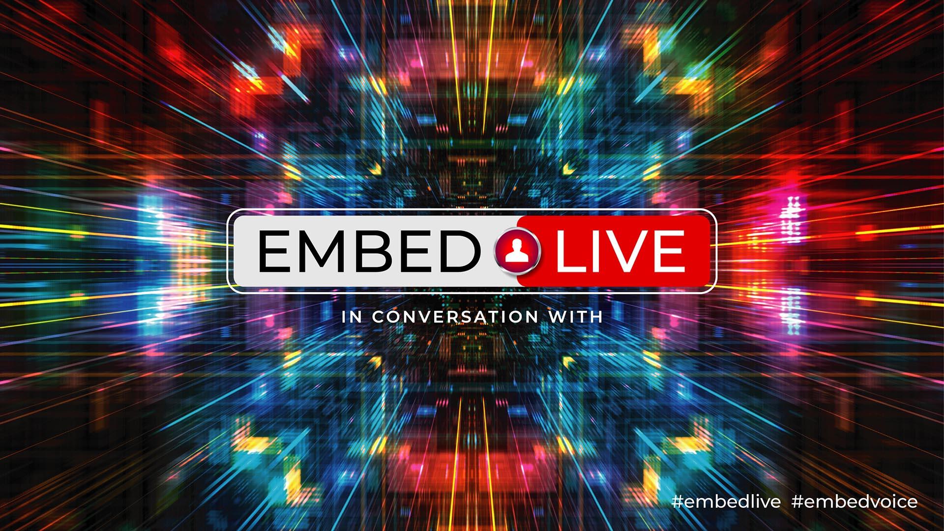 Embed Live Logo on BG